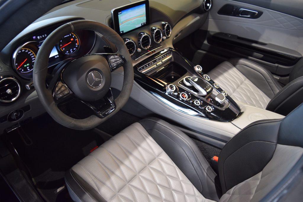 Interior AMG GT C Roadster Edition 50º
